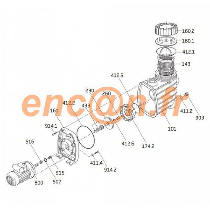 Badu ® TOP II//Pompes 6-8-12-14 O-Ring Kit pour Speck bettar Garniture mécanique